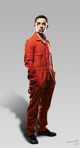 Misfits E4 wallpaper with a well dressed person called Misfits - Season 4 - Cast Promotional Photo