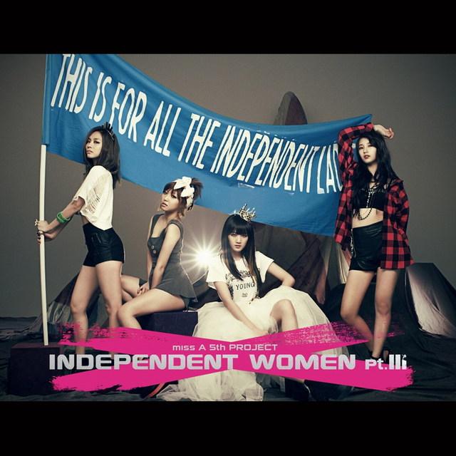 Miss A new mini album - Independent woman pt.III