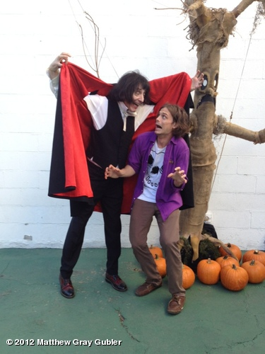 Moments before the horrifying Dracula-Emo ate my face