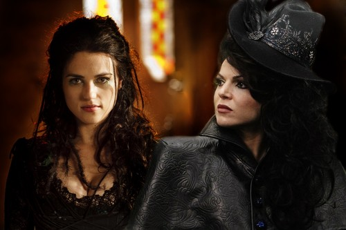 Morgana and Regina