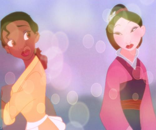 花木兰 & Tiana