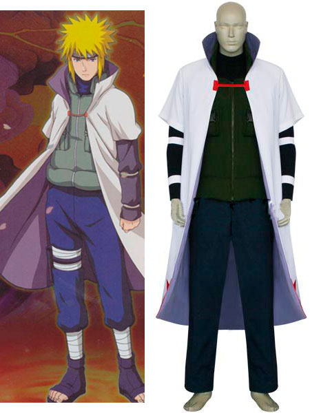 Naruto Yondaime 4th Hokage Cosplay Costume - Naruto Photo ...