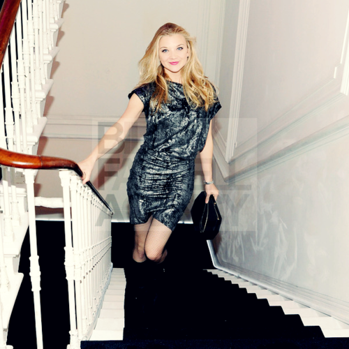Natalie attends a W MAGAZINE & JIMMY CHOO dinner