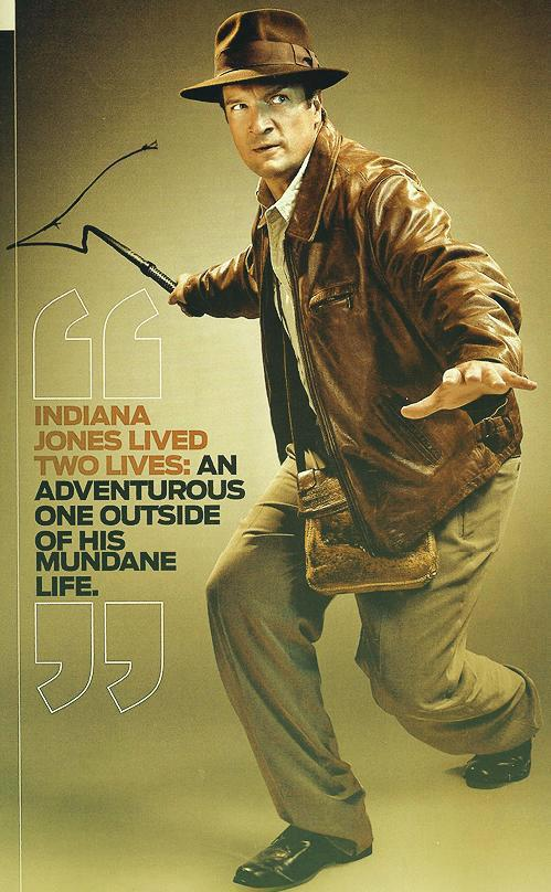 Nathan Fillion Geek Magazine 2012