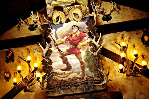 New Fantasyland @ Walt Дисней World - Gaston's Tavern