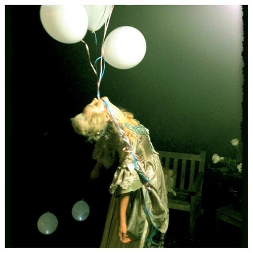 New Twitter pic - Candice's Tea Party with Friends. {06/10/12}