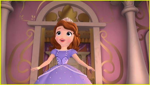 Sofia The First achtergrond called New pictures