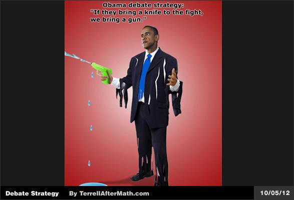 Obama dibattito Strategy