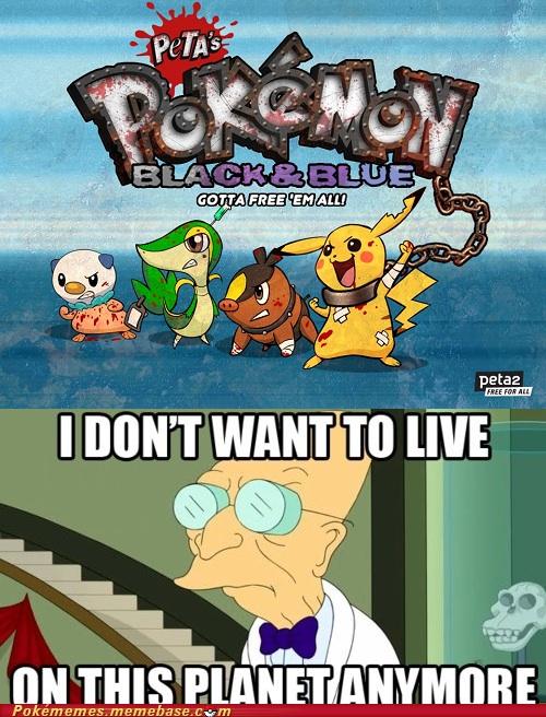 PETA ruining the fun of Pokémon for us