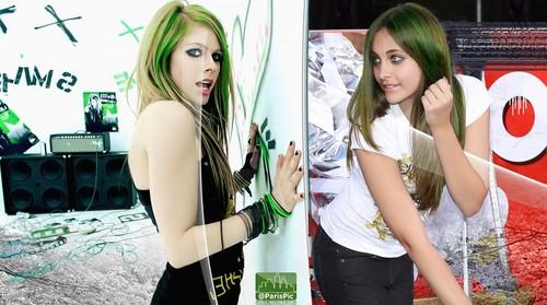 Paris Jackson Avril Lavigne (@ParisPic)