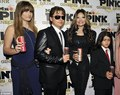 Paris Jackson, Prince Jackson, Latoya Jackson and Blanket Jackson at Mr Pink Drink Launch Party - blanket-jackson photo