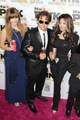 Paris Jackson, Prince Jackson and Latoya Jackson at Mr Pink Drink Launch Party