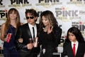 Paris Jackson, Prince Jackson, Latoya Jackson and Blanket Jackson at Mr розовый Drink Launch Party