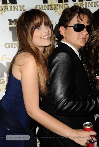 Paris Jackson and her brother Prince Jackson Blanket Jackson at Mr rosa Drink Launch Party ♥♥