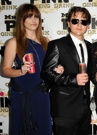 Paris Jackson and her brother Prince Jackson at Mr merah jambu Drink Launch Party ♥♥