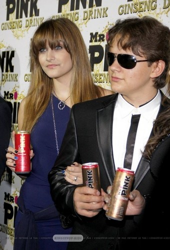 Paris Jackson and her brother Prince Jackson at Mr गुलाबी Drink Launch Party ♥♥