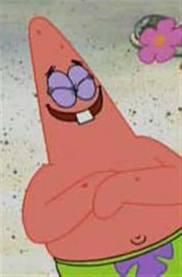 Patrick Laughing