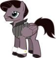 Poe Pony - edgar-allan-poe fan art