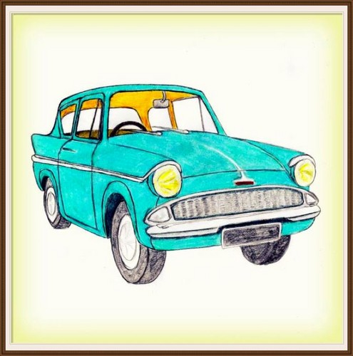 Pottermore: Objects - Flying Ford Anglia