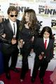 Prince Jackson, Latoya Jackson and Blanket Jackson at Mr Pink Drink Launch Party