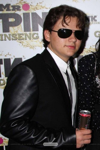 Prince Jackson at Mr rosa Drink Launch Party ♥♥