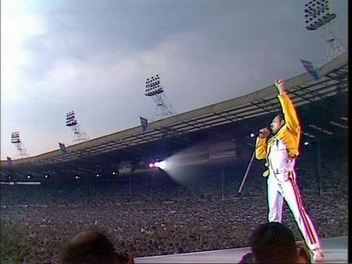 queen at Wembley