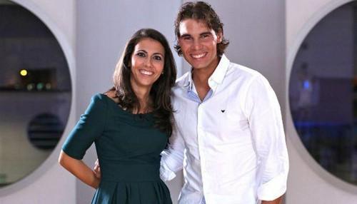 Rafa Nadal and Ana Pastor