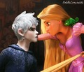 Rapunzel and Jack Frost - disney-crossover photo