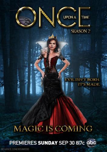 La Méchante Reine/Regina Mills fond d'écran containing a dîner dress and a robe called Regina Mills/Evil Queen
