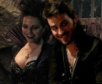 Regina and Captain Hook