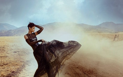 Rihanna Vogue Wind