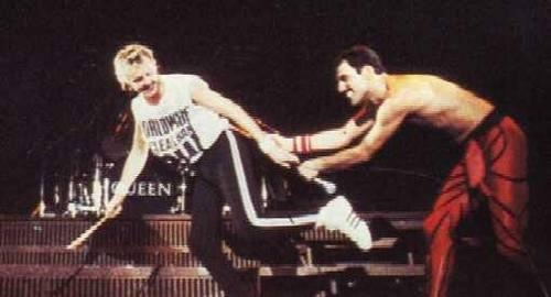 Roger and Freddie