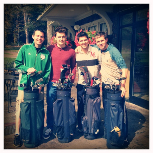 Round of golf with the lads!