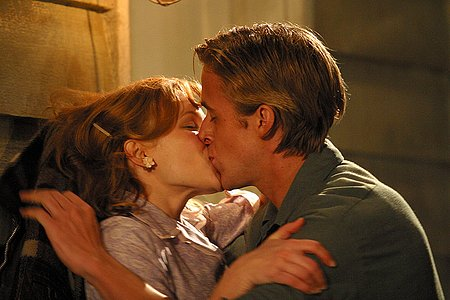 Ryan anak angsa, gosling in The Notebook
