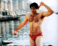 SUNNY DEOL SHIRTLESS SPEEDO - bollywood wallpaper