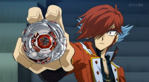 beyblade Metal Fusion wallpaper probably with anime entitled Sakyo & Dark Night Dragoon