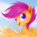 Scootaloo  - my-little-pony-friendship-is-magic icon