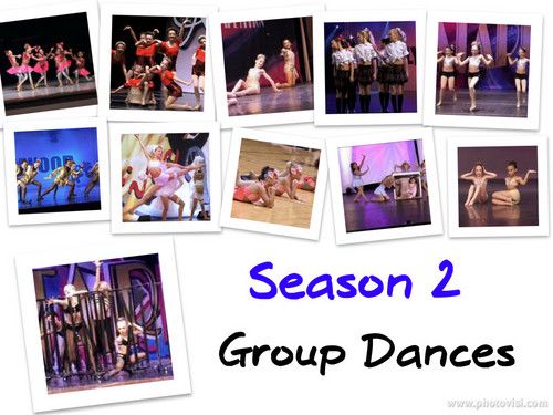 Season 2 Group Dances collage