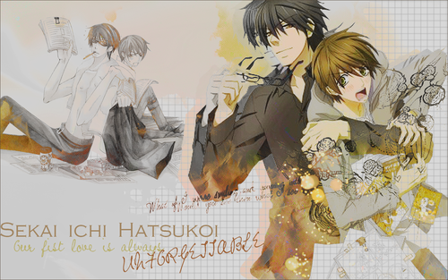 Sekai Ichi Hatsukoi images Sekai Ichi Hatsukoi Wallpapers ...