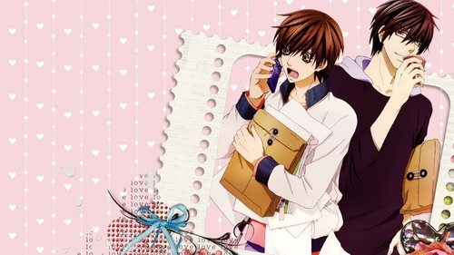 sekai ichi hatsukoi fondo de pantalla probably with an outerwear, a well dressed person, and a sign called Sekai Ichi Hatsukoi fondo de pantalla