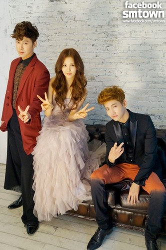 Seohyun and TVXQ for 'CeCi'