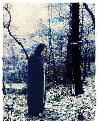 Severus Snape wallpaper called Severus Snape Sword of Griffindor