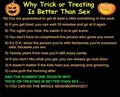 Sex vs.Trick-or-Treat^v-v^
