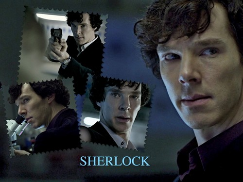 Sherlock Holmes wallpaper with a business suit called Sherlock