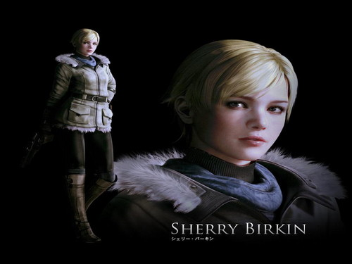 Resident Evil wallpaper entitled Sherry Birkin
