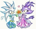 Silver & Blaze - silver-the-hedgehog photo