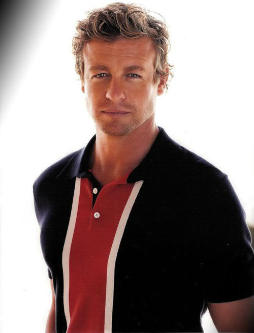simon baker wife