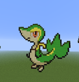 Snivy evolution family.