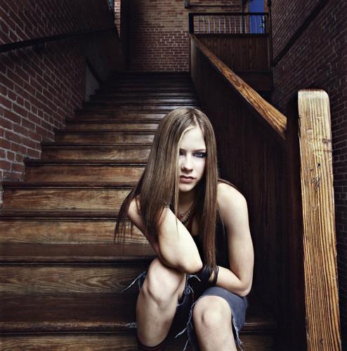Staircase Photoshoot 2002