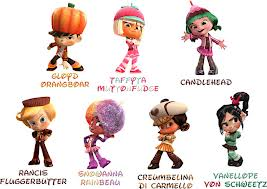 Sugar Rush Speedway Characters